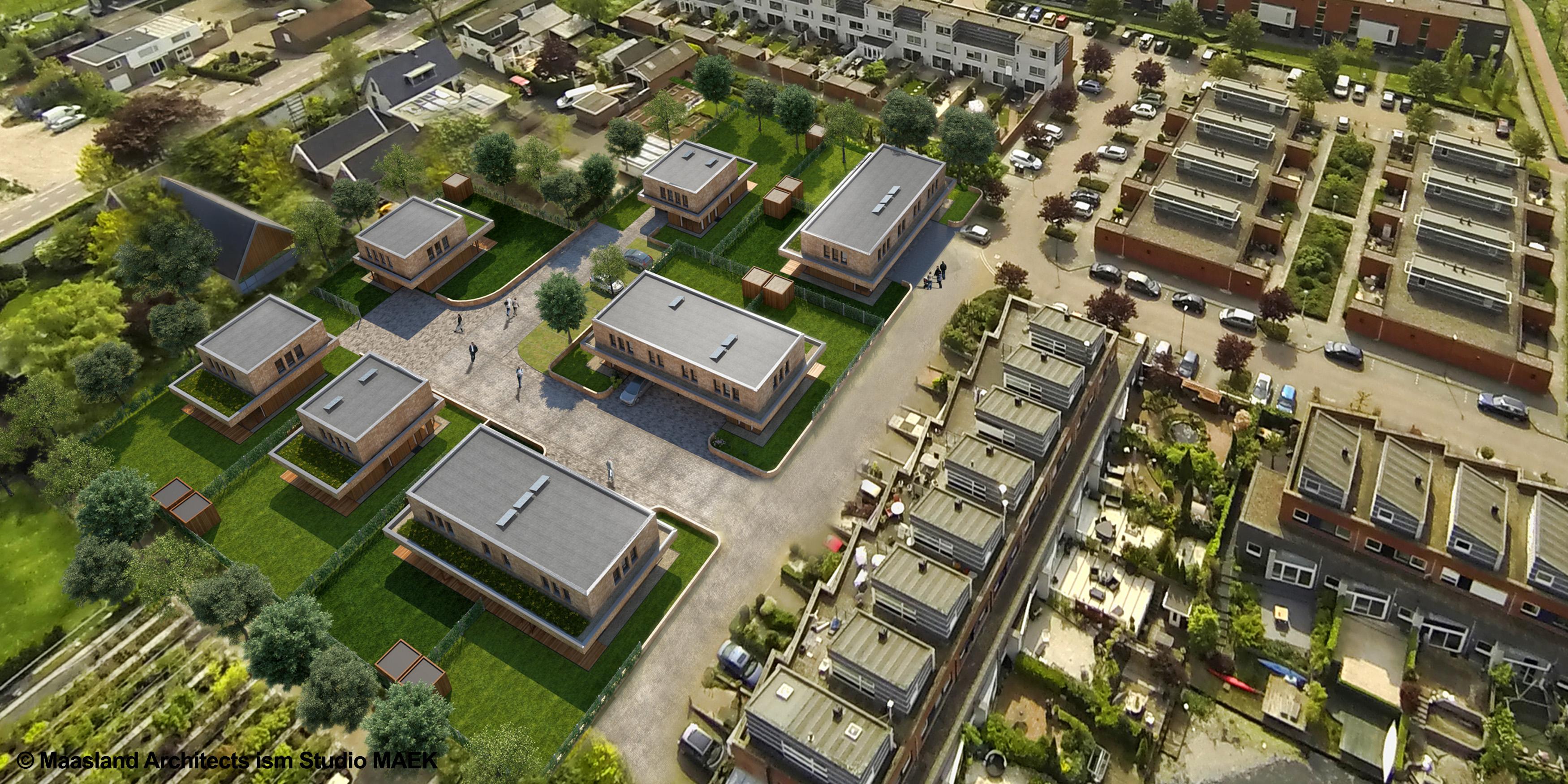 Zegschans Zoetermeer architectuur